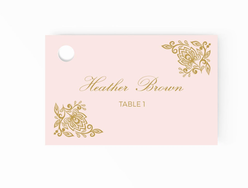 Place Cards Template Wedding Unique Wedding Escort Place Cards Editable Ms Word Template Diy