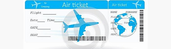 Plane Ticket Template Pdf Beautiful Ticket Template for Plane Example Of Plane Ticket