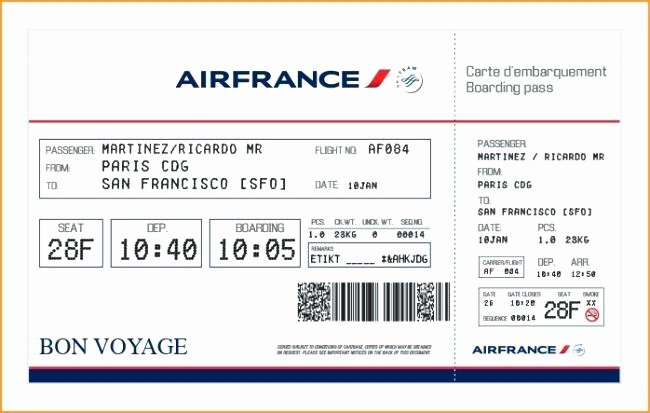Plane Ticket Template Pdf Best Of Printable Boarding Pass Template Flight Ticket format Pdf