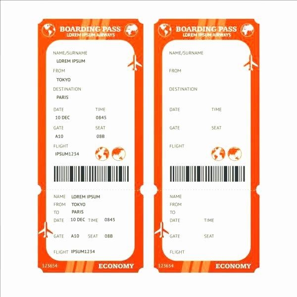 Plane Ticket Template Pdf Unique Plane Ticket Template Airplane Pdf – Sjmedia