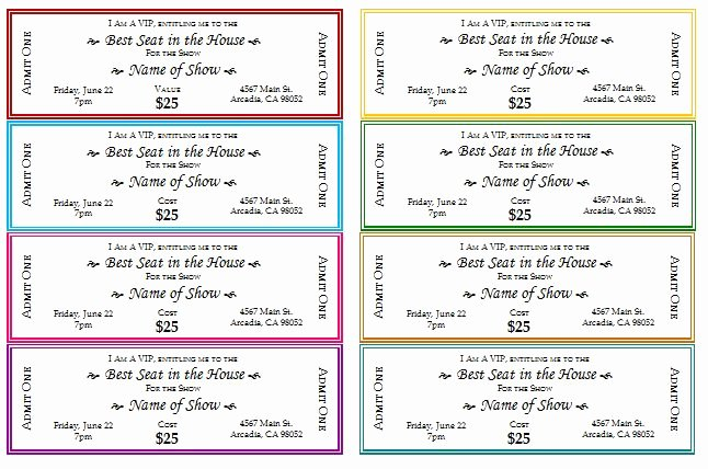 Plate Sale Tickets Template Awesome 27 Of Benefit Plate Sale Ticket Template