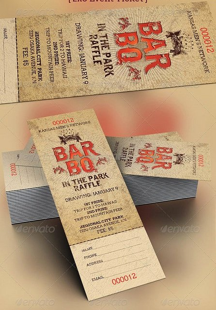 Plate Sale Tickets Template Beautiful 62 Best Bbq Branding Images On Pinterest