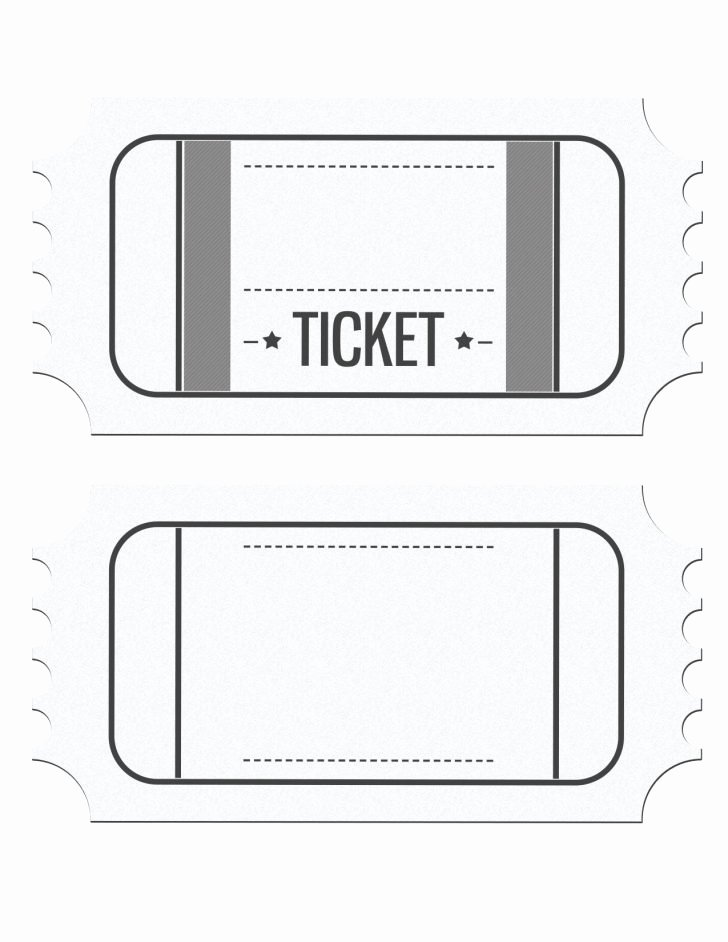 Plate Sale Tickets Template Best Of Plate Sale Ticket Template Blank Ticket Templates Free Bbq