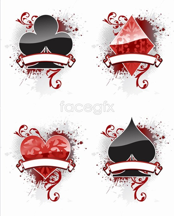 Playing Card Design Template Beautiful 13 Vector Playing Card Template Free Vector
