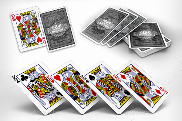 Playing Card Design Template Beautiful 31 Playing Cards Mockups Free Psd Designs