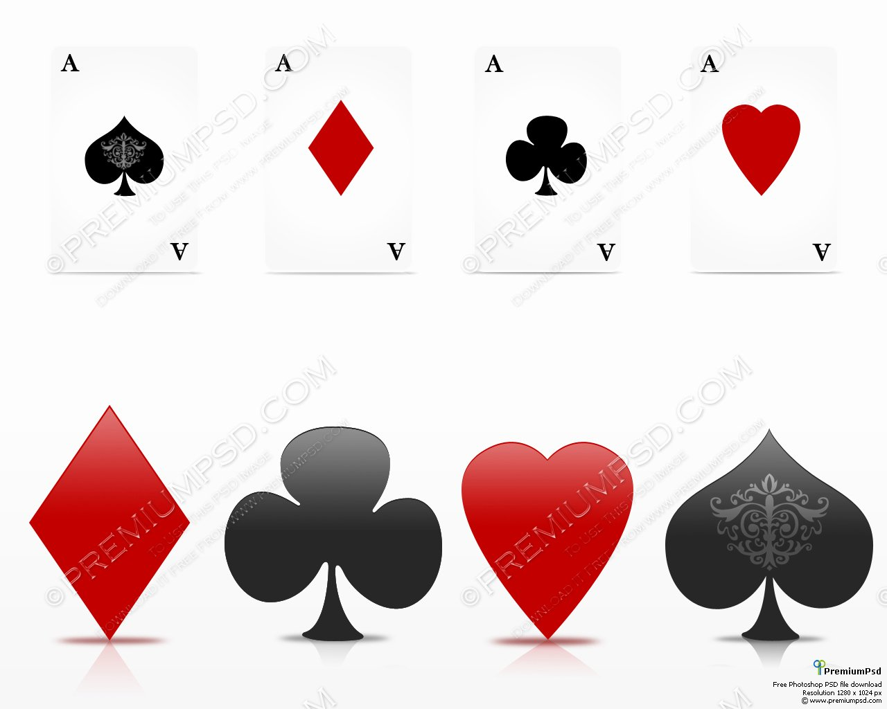 Playing Card Design Template Elegant 13 Playing Cards Psd Playing Card Template