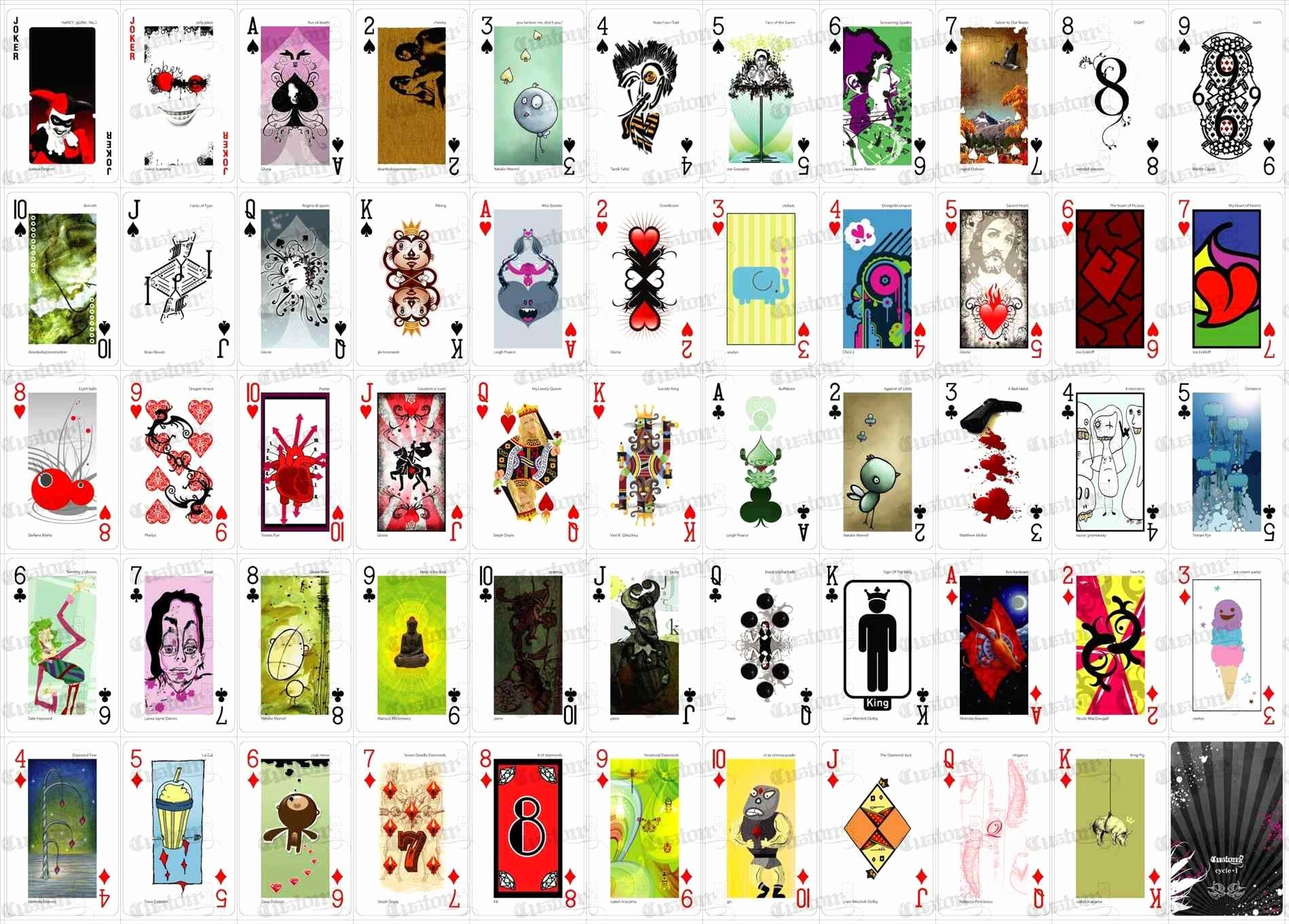 Playing Card Design Template Elegant Cool Card Deck Designs Arch Dsgn