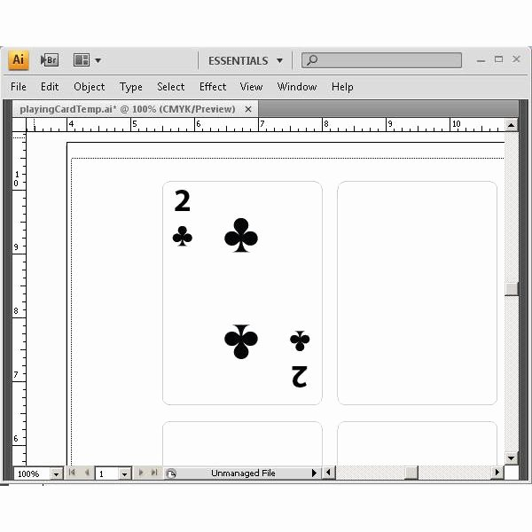 Playing Card Design Template Inspirational Learn How to Create Playing Cards In Illustrator