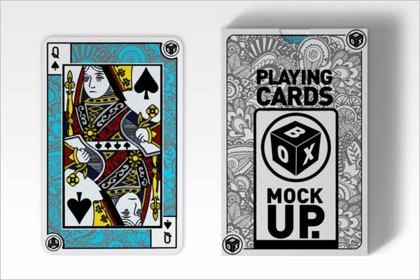 Playing Card Design Template New 31 Playing Cards Mockups Free Psd Designs