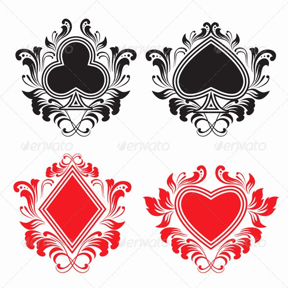 Playing Card Design Template New Shop Playing Card Template for Design Dondrup