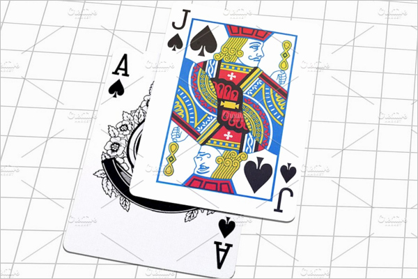 Playing Card Design Template Unique 31 Playing Cards Mockups Free Psd Designs