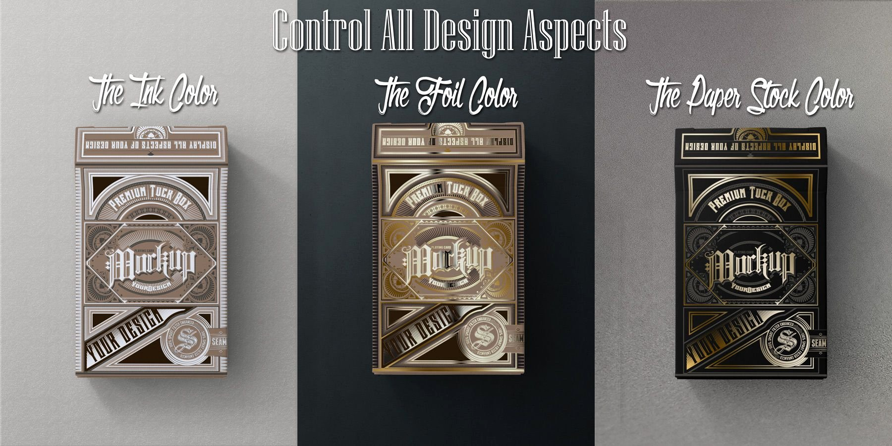 Playing Card Template Photoshop Unique Playing Card Tuck Box Mock Ups Psd Templates – Front View