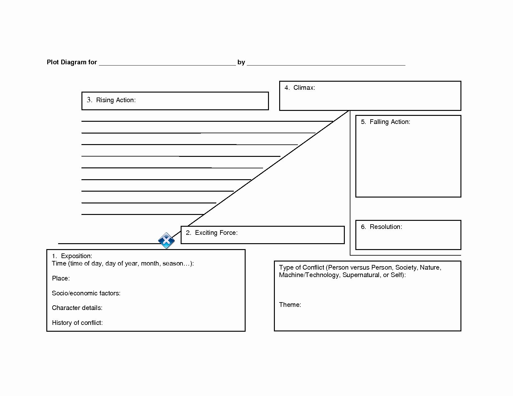 Plot Diagram Template Pdf Inspirational 29 Of Template Plot Diagram