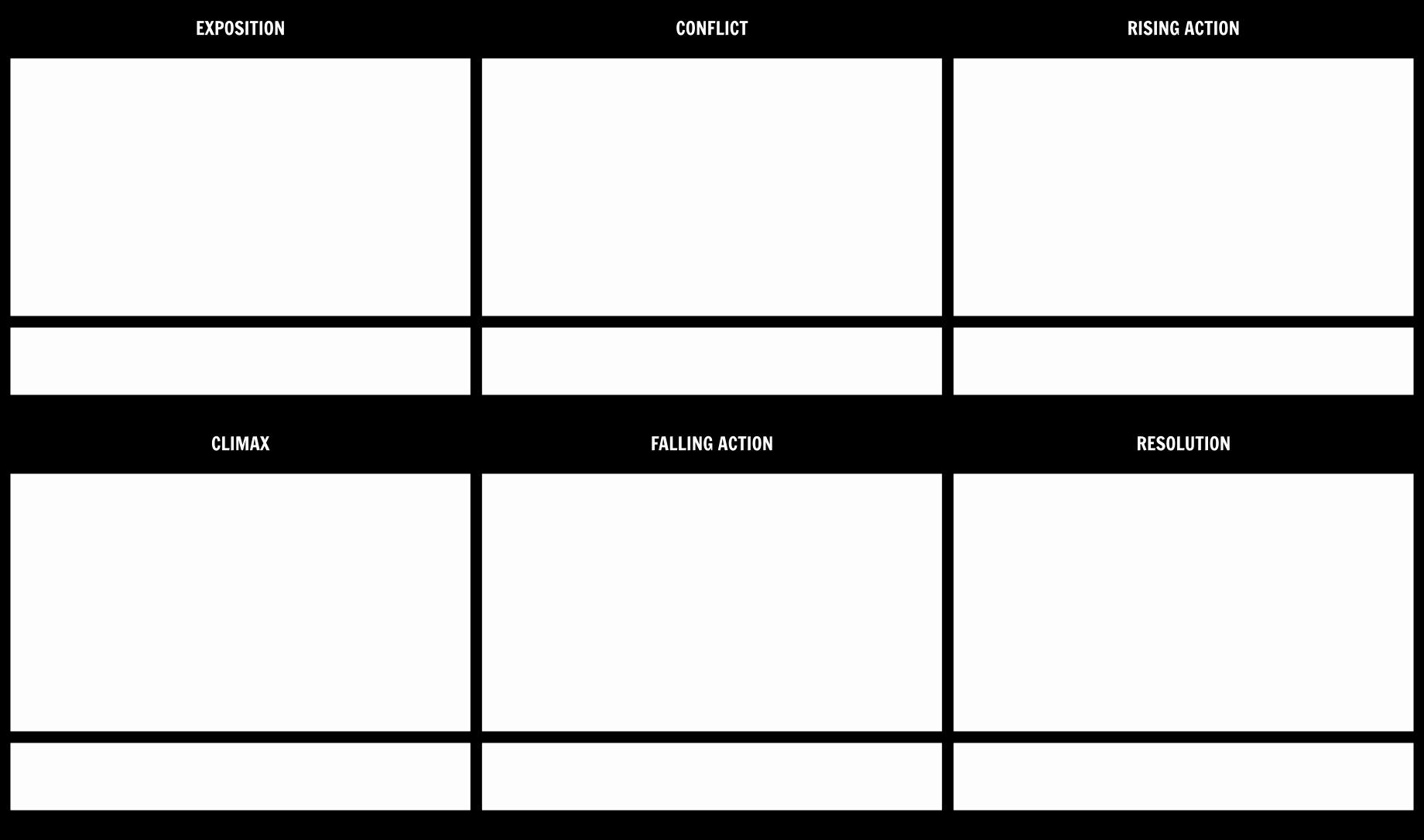 Plot Diagram Template Pdf New Plot Diagram Template 16x9 Storyboard by Anna Warfield