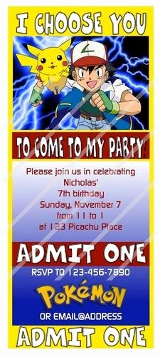 Pokemon Birthday Invitations Template New Best 25 Pokemon Birthday Card Ideas On Pinterest