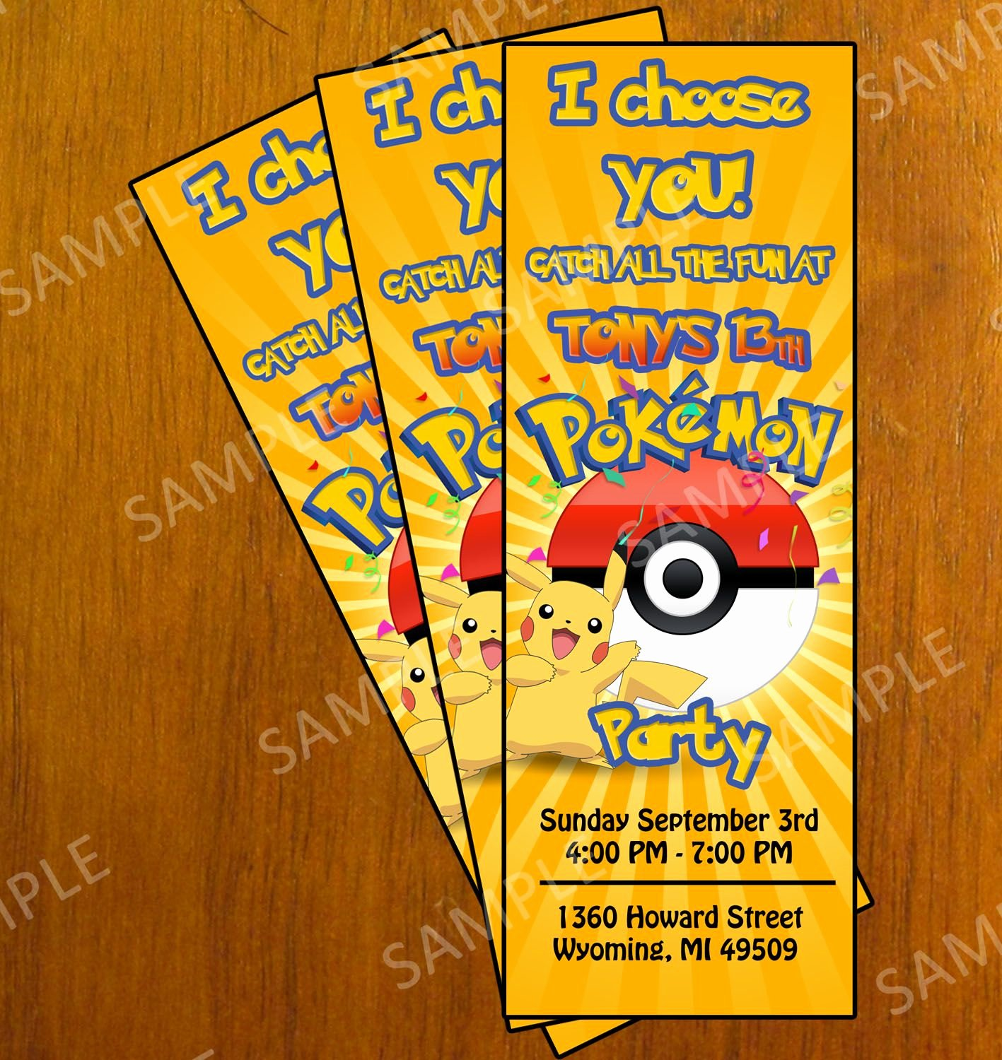 Pokemon Invitation Template Free Best Of Free Printable Pokemon Invitation Cards