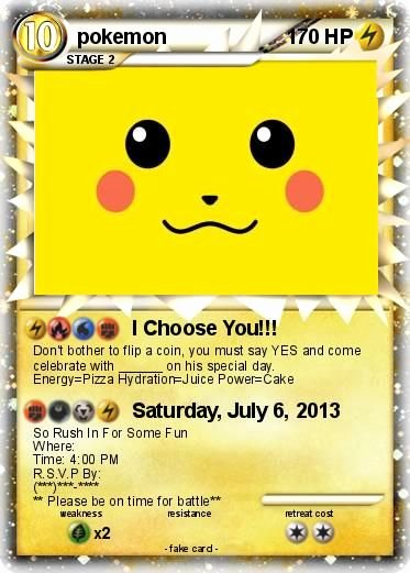 Pokemon Invitation Template Free Best Of Pokemon Birthday Invitations Pokemon Birthday Invitations