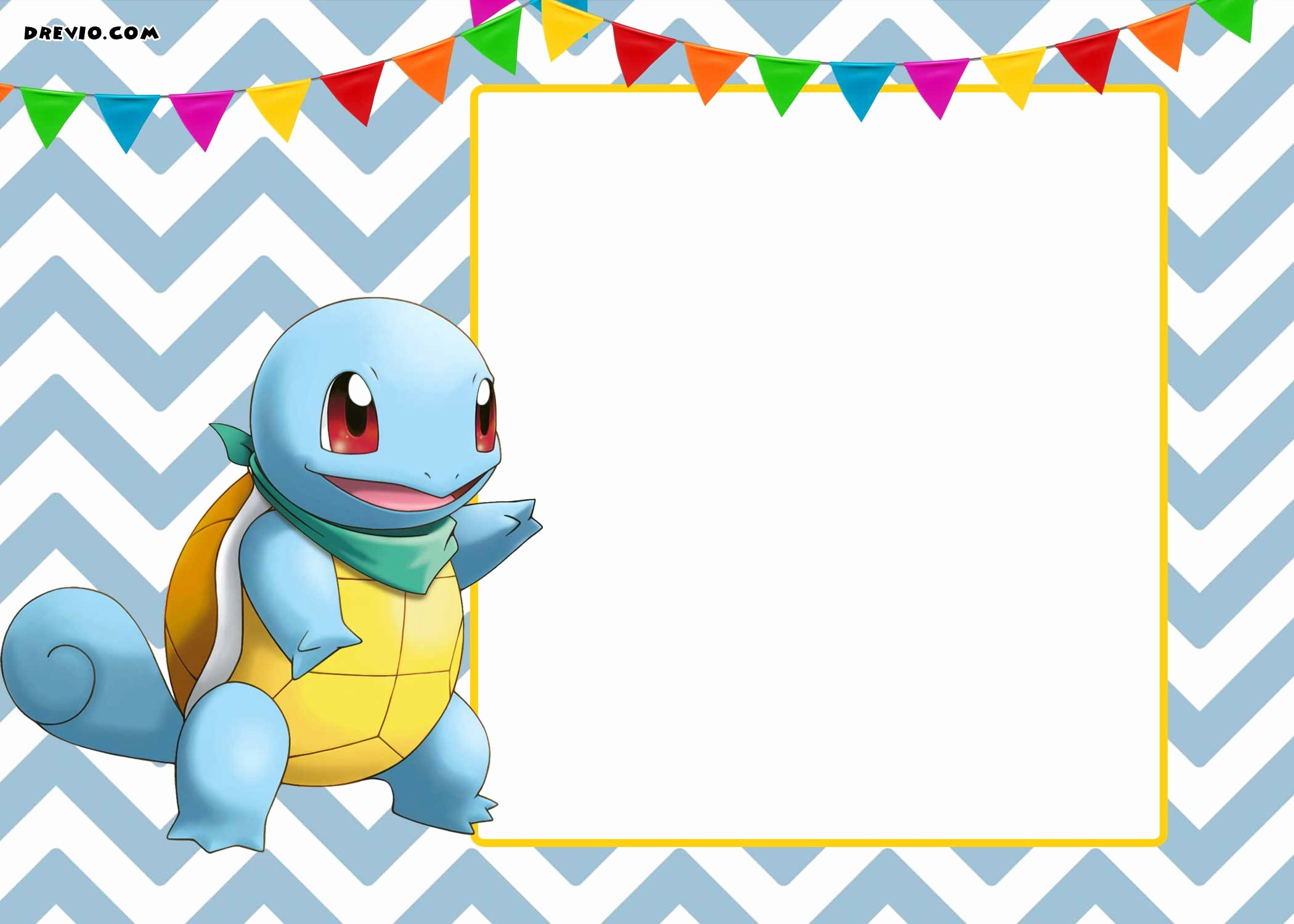Pokemon Invitation Template Free Inspirational Free Printable Pokemon Invitation Templates