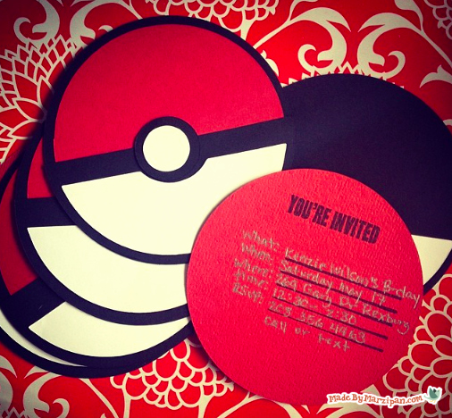 Pokemon Invitation Template Free Inspirational Pokemon Party Invites Made by Marzipan