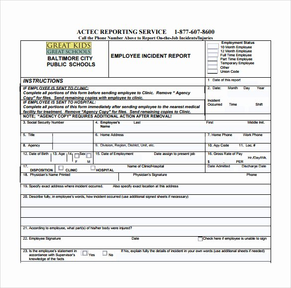 Police Incident Report Template Elegant Incident Report Template 15 Free Download Documents In