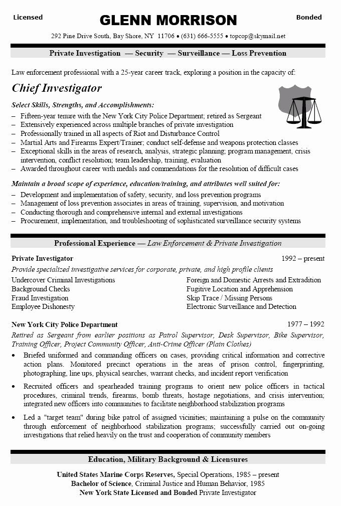 Police Officer Resume Template Awesome 17 Best Ideas About Police Ficer Resume On Pinterest