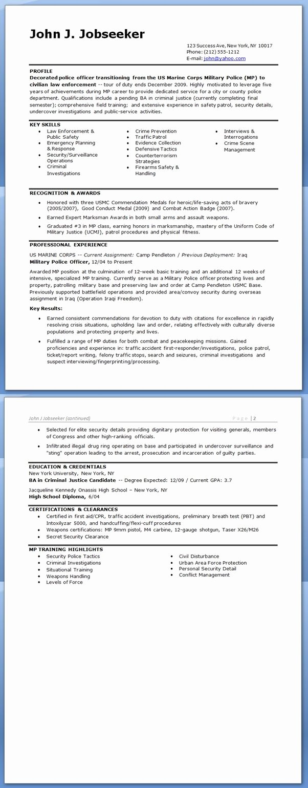 Police Officer Resume Template Beautiful 25 Best Ideas About Police Ficer Resume On Pinterest