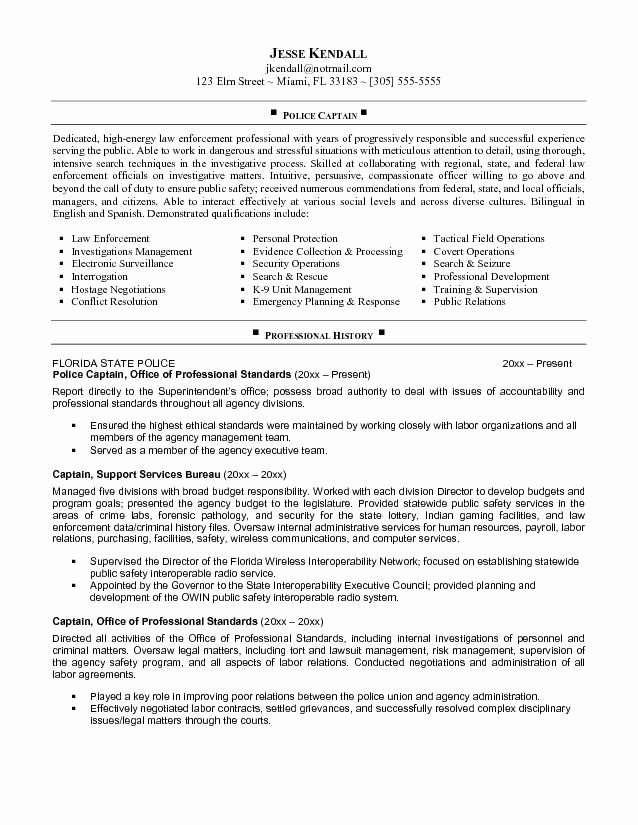 Police Officer Resume Template Beautiful 25 Best Ideas About Police Officer Resume On Pinterest