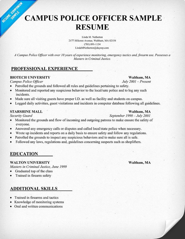 Police Officer Resume Template Inspirational Cover Letter Example Police Captain Cover Letter Example