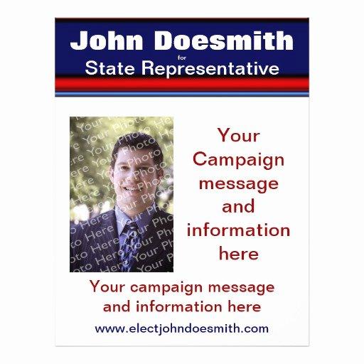 Political Campaign Plan Template Beautiful Political Election Campaign Flyer Template