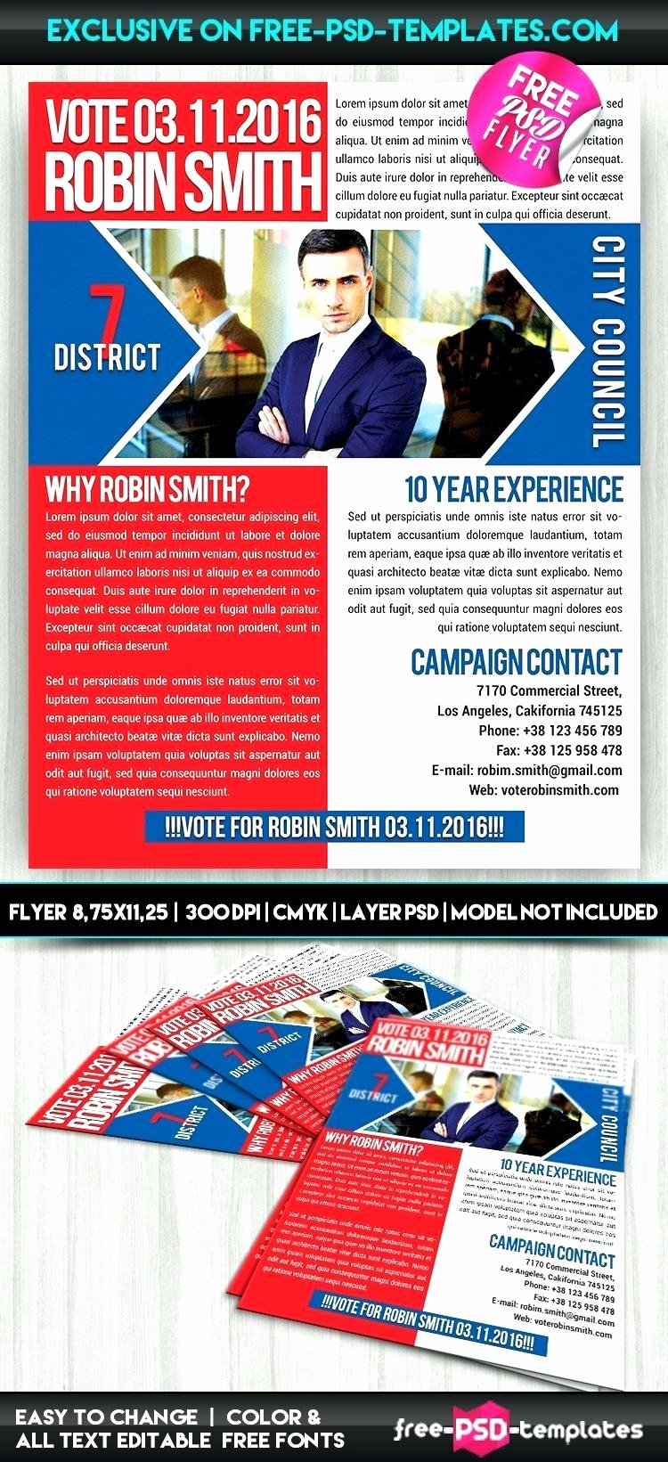 Political Flyer Template Free Best Of Quality Graph Election Flyers Templates Free