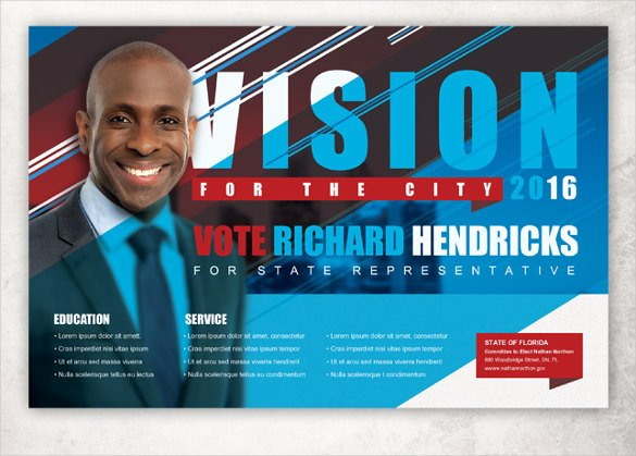 Political Flyer Template Free Unique Political Postcard Template – 12 Free Psd Vector Eps Ai