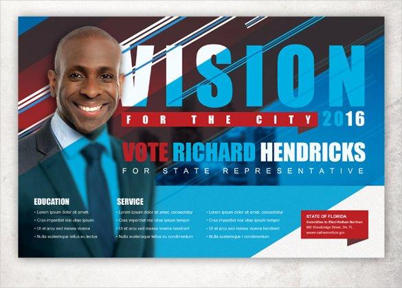 Political Flyer Template Free Unique Political Postcard Template – 12 Free Psd Vector Eps Ai