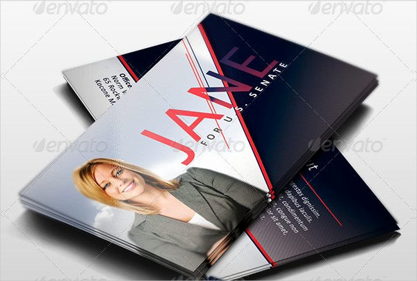 Political Palm Card Template Beautiful 13 Political Business Card Templates Free & Premium