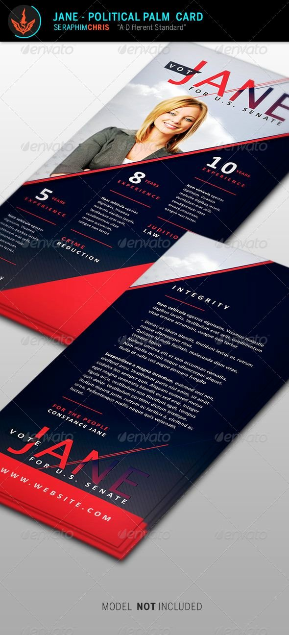 Political Palm Card Template Luxury 15 Best Political Design Images On Pinterest