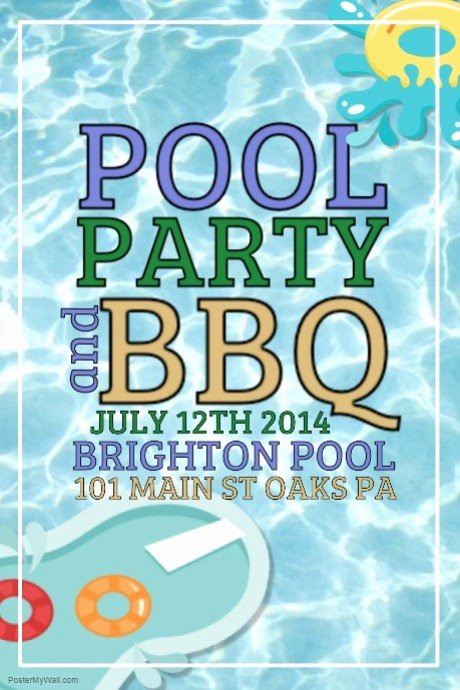 Pool Party Flyer Template Best Of Pool Party Template