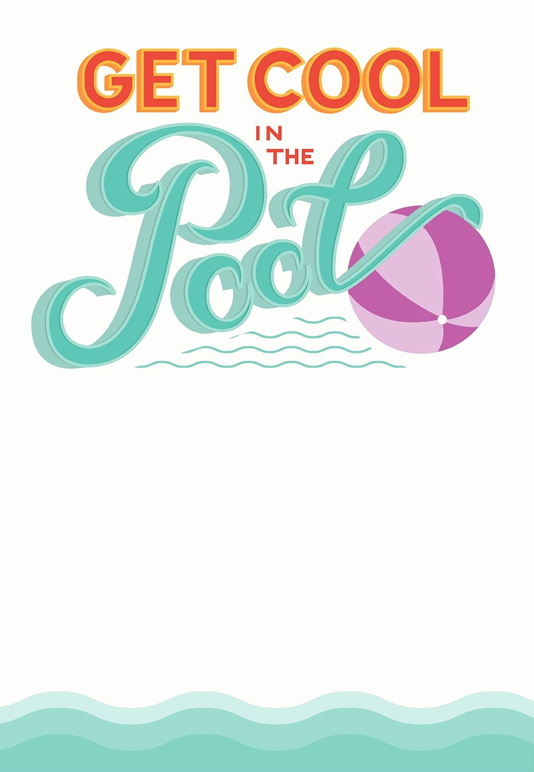 Pool Party Invitations Template Luxury Pool Party Free Printable Party Invitation Template