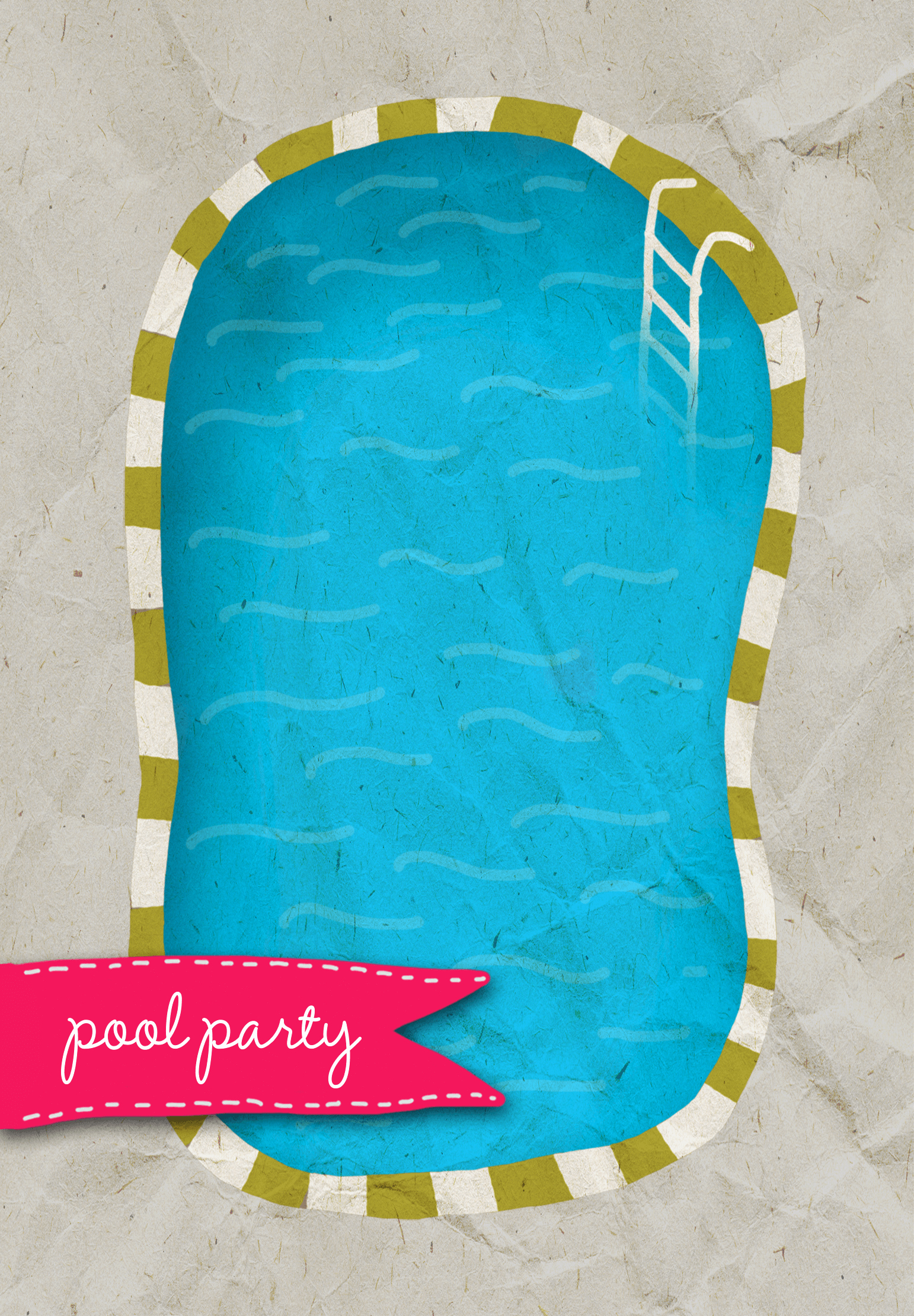 Pool Party Invite Template Elegant A Pool Free Printable Summer Party Invitation Template