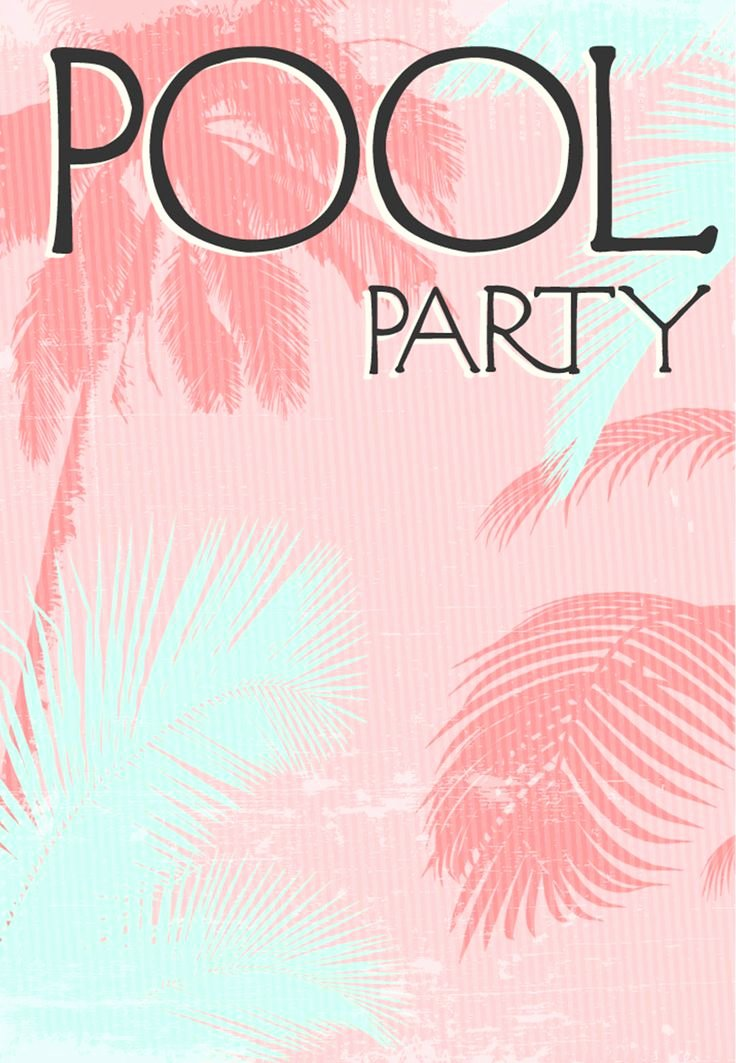 Pool Party Invite Template New Best 25 Summer Party Invites Ideas On Pinterest