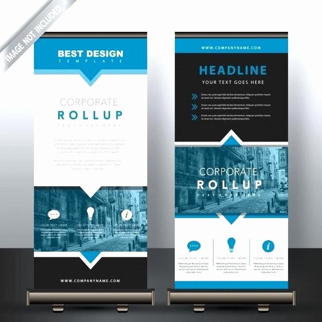 Pop Up Banner Template Beautiful 99 Rollup Banner Design with Simple Shapes for