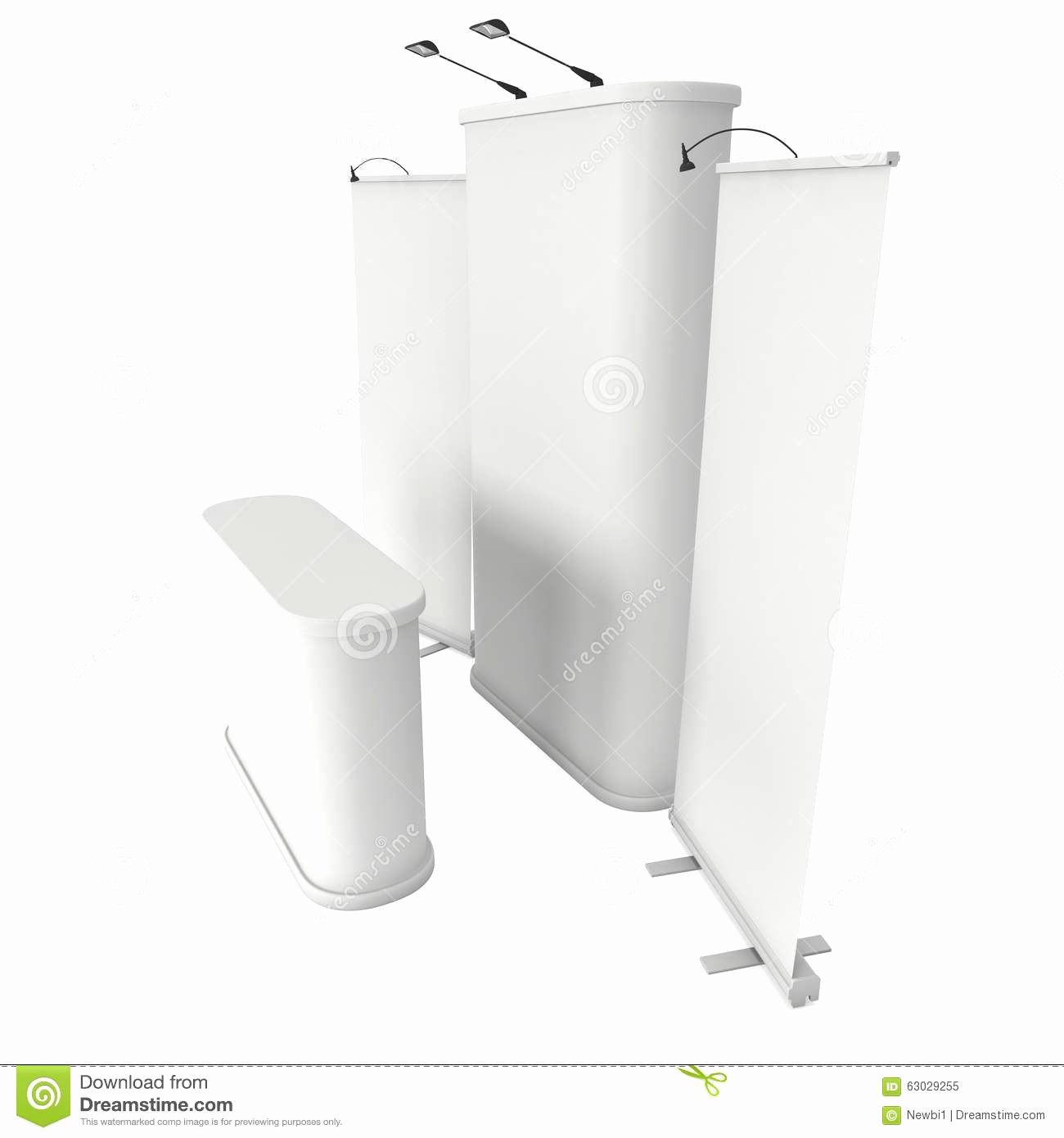 Pop Up Banner Template New Roll Up and Pop Up Banner Stands Stock Illustration