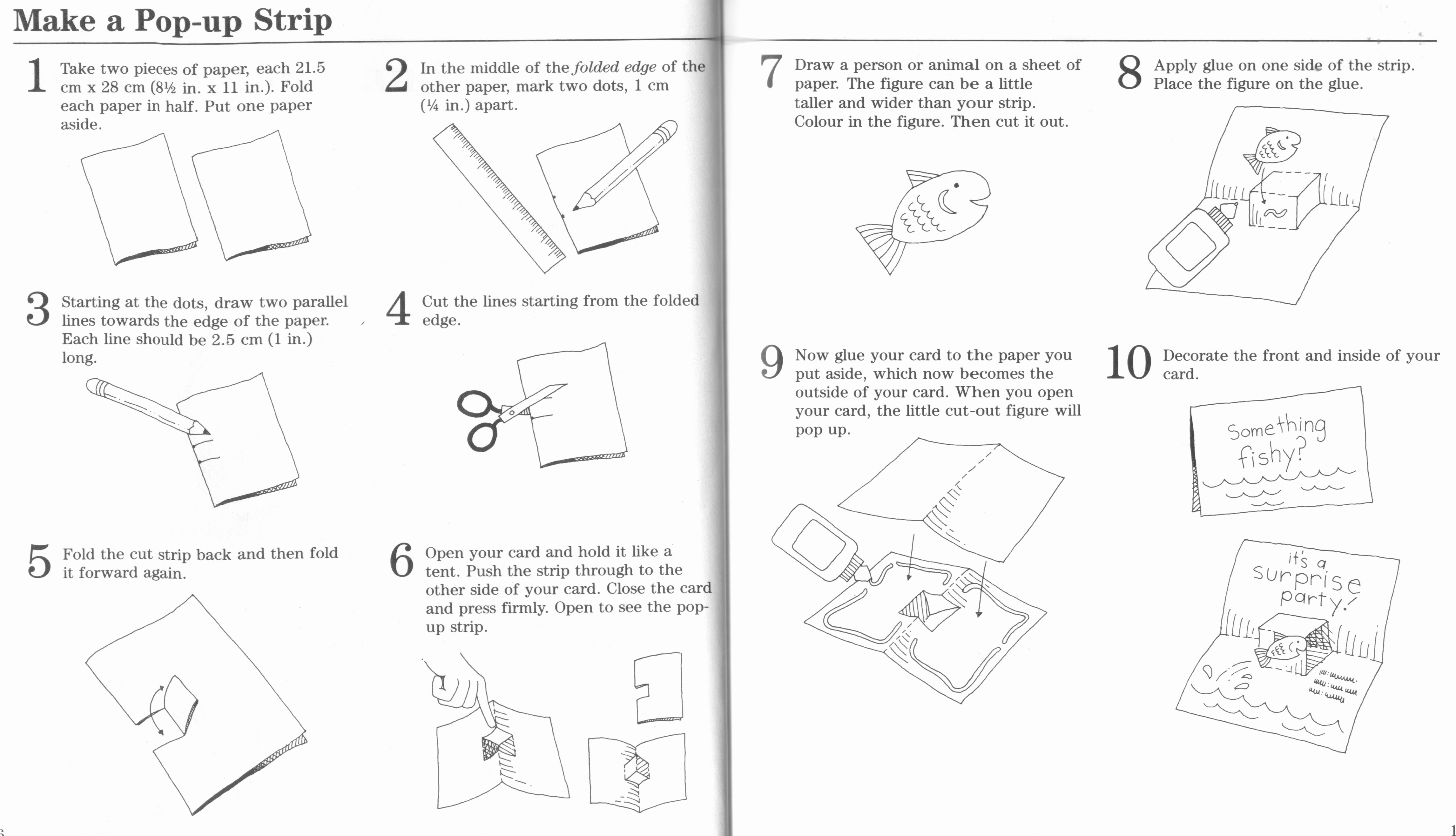 Pop Up Book Template Best Of Your Beginner S Guide to Making Pop Up Books and Cards