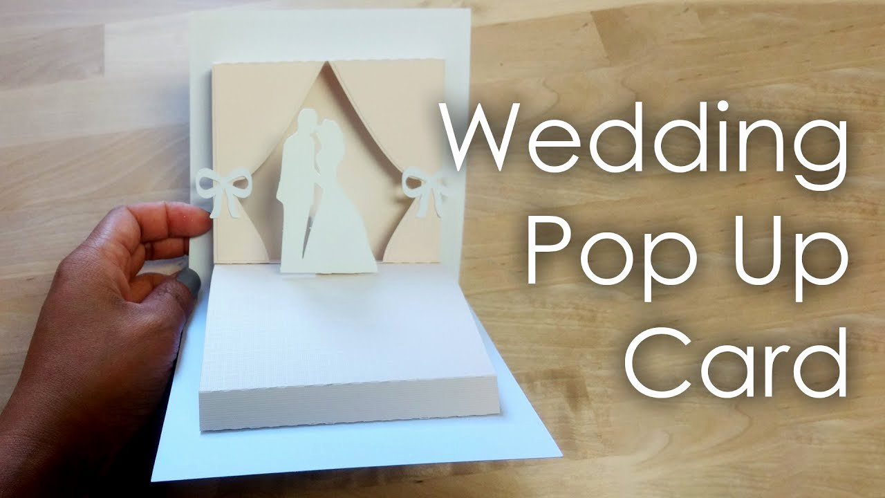 Pop Up Card Template Beautiful [tutorial Template] Diy Wedding Project Pop Up Card