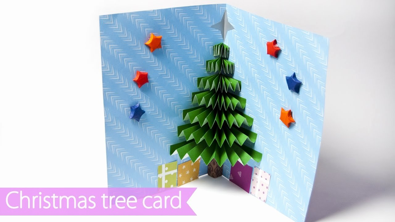 Popup Christmas Card Template Unique 3d Christmas Pop Up Card
