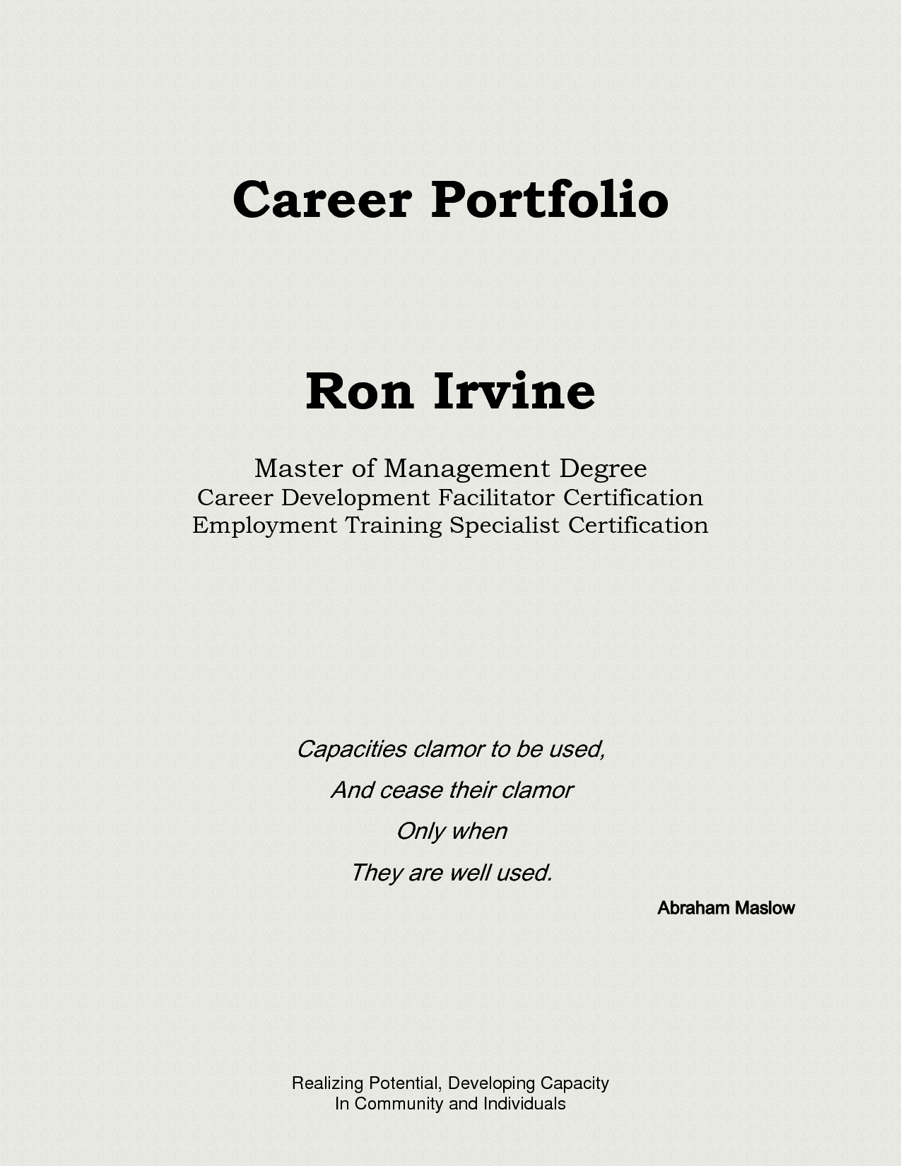 Portfolio Title Page Template Lovely Portfolio Front Cover Template Templates Data