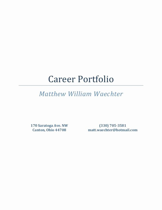 Portfolio Title Page Template Luxury Portfolio Cover Page Template Free Download the Best