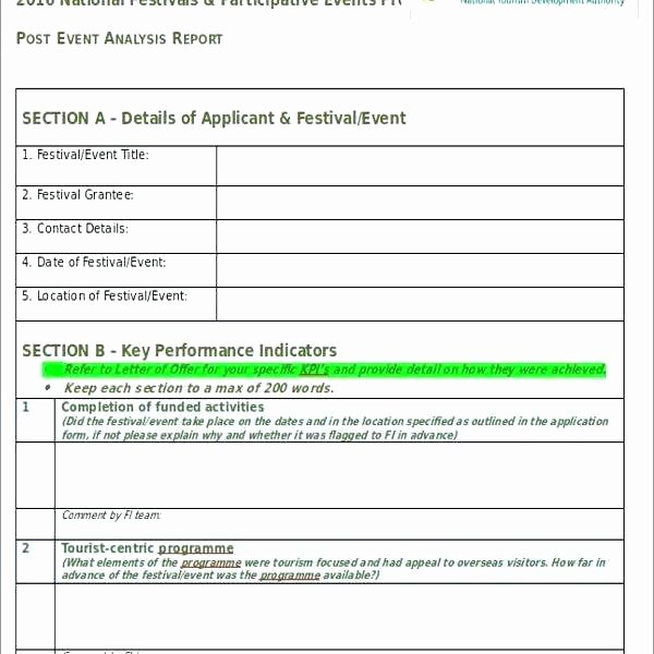Post event Report Template Beautiful Project Reports Templates Weekly Status Report Template