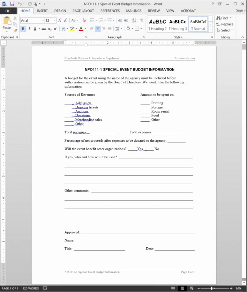 6 event reporting template business opportunity program