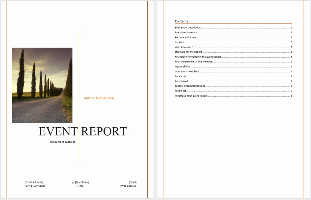 Post event Report Template Luxury How to Write A Post event Report to Get Actionable Insights