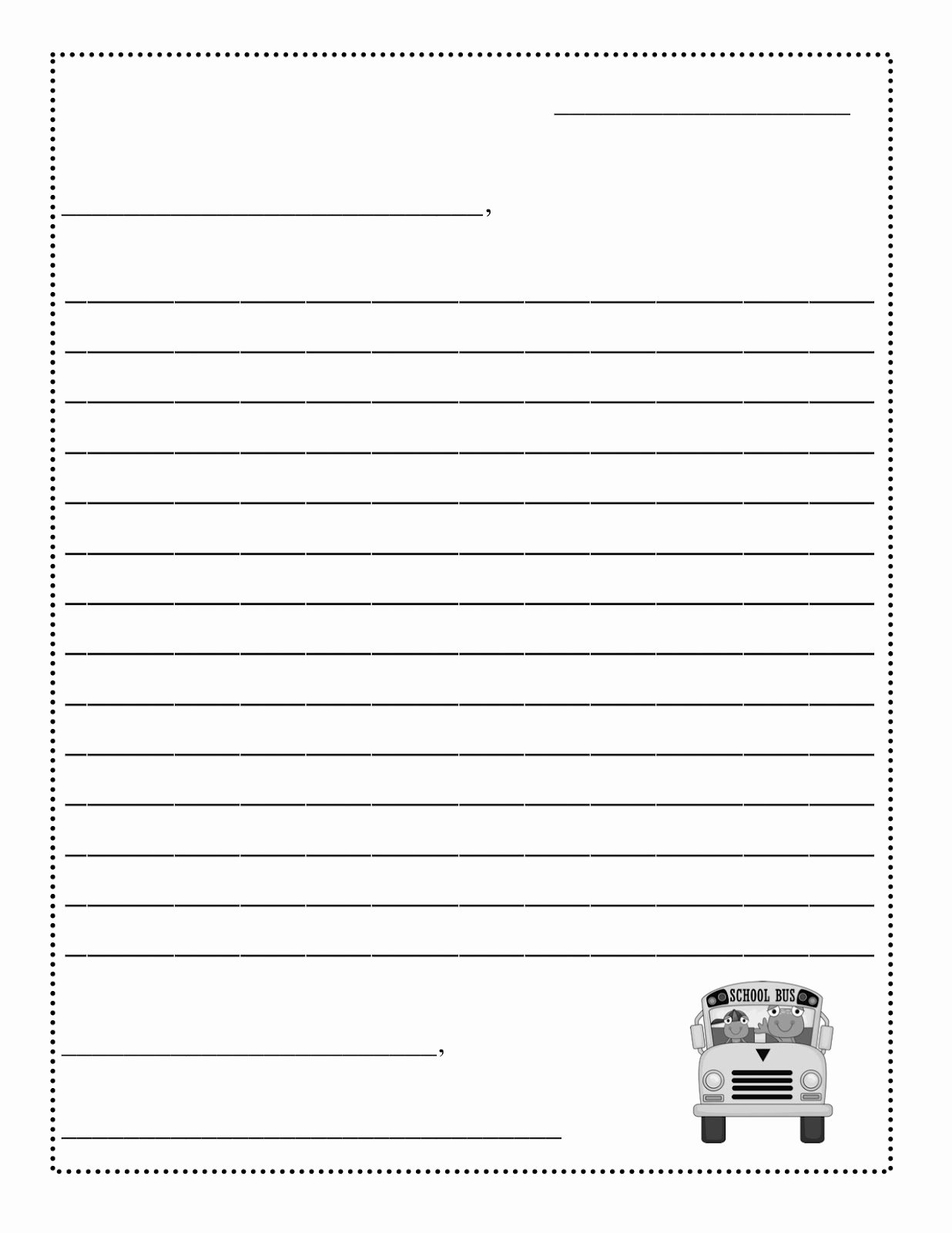 Postcard Template for Kids Beautiful 10 Best Of Postcard Writing Template for Kids