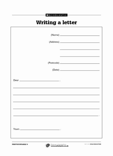 Postcard Template for Kids Best Of 10 Best Of Postcard Writing Template for Kids